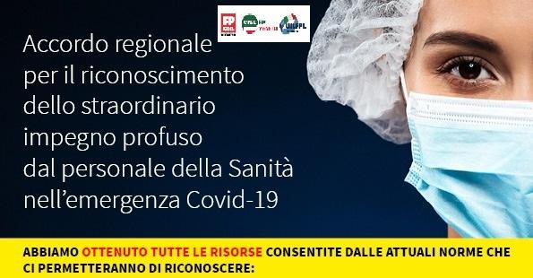 EMERGENZA COVID 19  – FIRMATO L'ACCORDO TRA REGIONE VENETO E ORGANIZZAZIONI SINDACALI